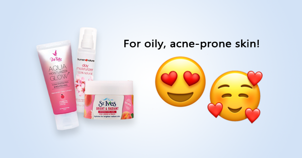 7 Best Drugstore Moisturizers For Oily Acne Prone Skin 5 Above 500 Worth Considering The Glow Hacker